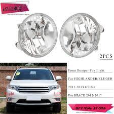 2017 Highlander Fog Light Us 25 6 20 Off Zuk 2pcs Front Fog Light Fog Lamp Foglamp For Toyota Highlander Kluger Asu40 2011 2013 Hiace Regiusace 2012 2017 Oe 81210 0e022 In