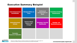 Executive Summary Businessplan Experte