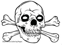 Free Pirate Skull And Crossbones Template Hostingpremiumco