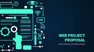 Website Design Proposal Ppt Web Project Proposal Google Slides Theme And Powerpoint Template