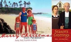 Image result for miserable christmas cards