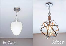 diy industrial lighting. Bless\u0027er House | 5 DIY Industrial Light Fixtures For Under $25 Diy Lighting O