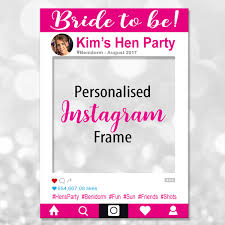 bride to be photo frame