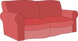 sofa clipart. Ñ sofa clipart openclipart