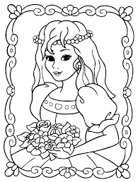 Small Picture Coloring Pages Princess Coloring Book Pages Printable Princess