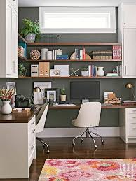 Decorating ideas for home office Catpillow Better Homes And Gardens Our Best Home Office Decorating Ideas