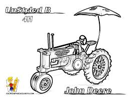 Small Picture John Deere Tractor Coloring Page fablesfromthefriendscom