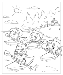 Small Picture Little einsteins coloring pages canoeing ColoringStar