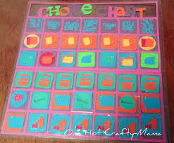 Somewhat Simple Chore Chart One Hot Crafty Momma Chore Chart