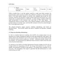 thermodynamic release scenario modeling and air dispersion modeling f 21