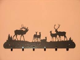 John Deere Coat Rack Deer Bath Towels Elk Bath Towels Featuring The Elk Painting Rocky 50