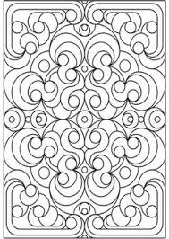 Small Picture Free printable coloring pages for adults Geometric patterns