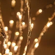 LED Twinkle Light Starburst Branches Lighting