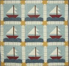 Sail Away Quilt Pattern by All Through The Night Baby Child Quilt ... & Sail Away Quilt Pattern by All Through The Night by agardenofroses, $9.00 Adamdwight.com
