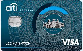 citi rewards card a world of credit card rewards credit cards citi hong kong