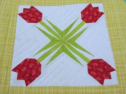 7 best Paper piecing pattern images on Pinterest | Foundation ... & Free Online Quilt Block Patterns | Free Pattern Friday: A Fresh Floral  Block, an Adamdwight.com