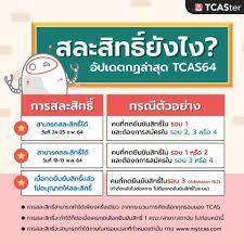 TCAS คืออะไร? สรุปชัดทุกประเด็น TCAS64 ปีล่าสุด (มีกี่รอบ / ปฏิทินคัดเลือก  / วิชาที่ใช้สอบ) - TCASter