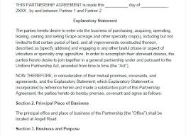 X A Previous Image Wallpaper Simple Partnership Agreement Template ...