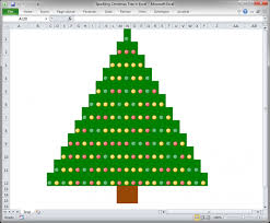 Sparkling Christmas Tree In Excel Teachexcel Com