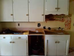 image of refinishing white kitchen cabinets