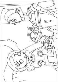 Kids N Fun Kleurplaat Robots Rodney En Cappy