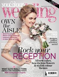 Catherine Parry In The Press You Your Wedding Front Cover Your Wedding Magazine