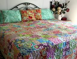 Queen size Quilt Ensemble Amy Butler Medley | Gorgeous queen… | Flickr & ... Queen size Quilt Ensemble Amy Butler Medley | by quiltlover03 Adamdwight.com