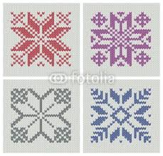 Nordic Knitting Seamless Star Patterns Maybe I Can Figure