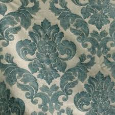 Small Picture Sweetbriar Marine Blue Damask Upholstery Fabric SW54595