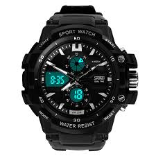readeel dual movement sports watches men electronic digital analog readeel dual movement sports watches men electronic digital analog shockproof silicone watch waterproof wristwatches for mens
