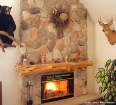 cedar mantle for great room fireplace