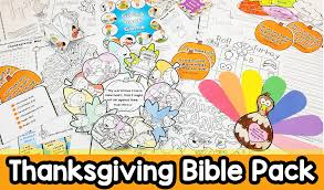 Download Thanksgiving Religious Printables 20 Bible Crafts Christian
