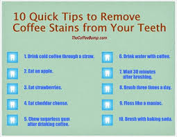 How does coffee stain your teeth? Facebook