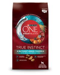 Purina One Smartblend True Instinct Formula With Real Salmon Tuna Dog Food