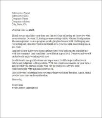 Thank You Letter After Interview 7 Free Word Pdf Documents Best