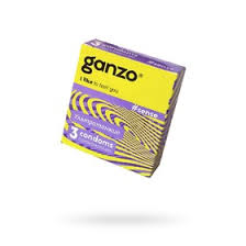 <b>Презервативы Ganzo</b> Sense «Ультра тонкие», 3 шт. (1704166 ...