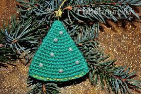 Amigurumi Weihnachtsbaum Anhänger Häkeln Premium