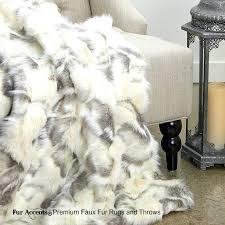 faux fur throw rug rugs australia