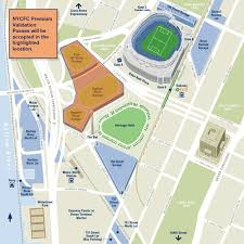 Si Yankee Stadium Seating Chart Yankee Stadium Parking New York City Fc