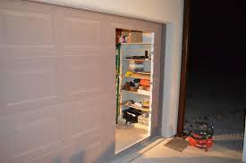 cutting a man door in a garage door welcome
