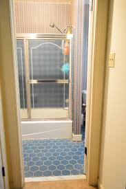 remove an old sliding shower door