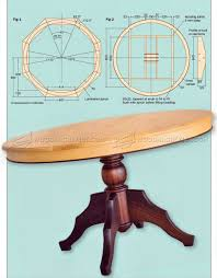 round dining table plans round dining table plans