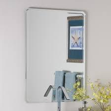 bathroom frameless mirror mirror hangers target frameless mirror