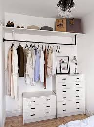 if you don t have a closet make one