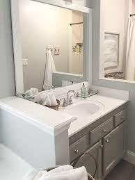 Bathroom Countertop Refinishing A Budget Friendly Bathroom Update