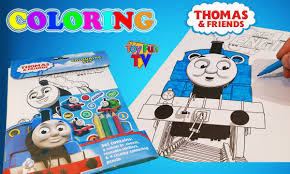 Try to color thomas and friends to unexpected colors! Thomas And Friends Coloring Book Thomas The Tank Engine Colour Episode Youtube