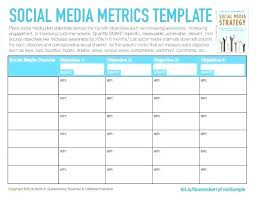 Social Media Plan Template Unique Digital Strategy Template Obrysco
