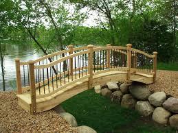 small garden bridge bridges uk ornament
