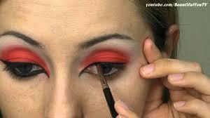 she devil halloween makeup tutorial