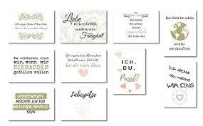 20er Postkarten Set Liebe Schöne Sprüche Motive Grußkarten